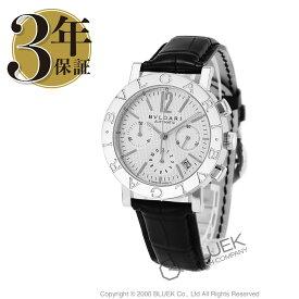 ブルガリ ブルガリブルガリ クロノグラフ アリゲーターレザー 腕時計 メンズ BVLGARI BB38WSLDCH_8