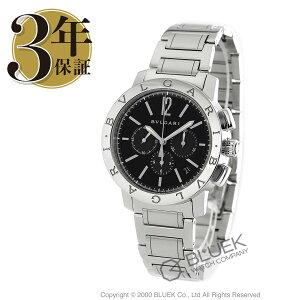 ブルガリブルガリブルガリクロノグラフ腕時計メンズBVLGARIBB41BSSDCH