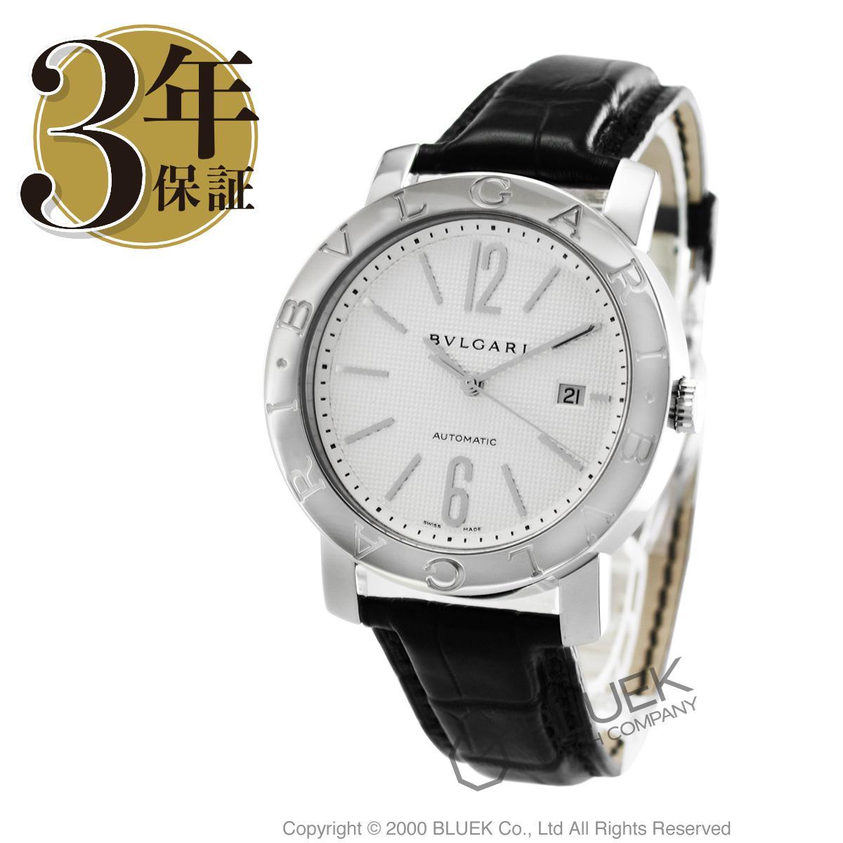 ブルガリ BVLGARI 腕時計 ブルガリブルガリ アリゲーターレザー メンズ BB42WSLD AUTO_8