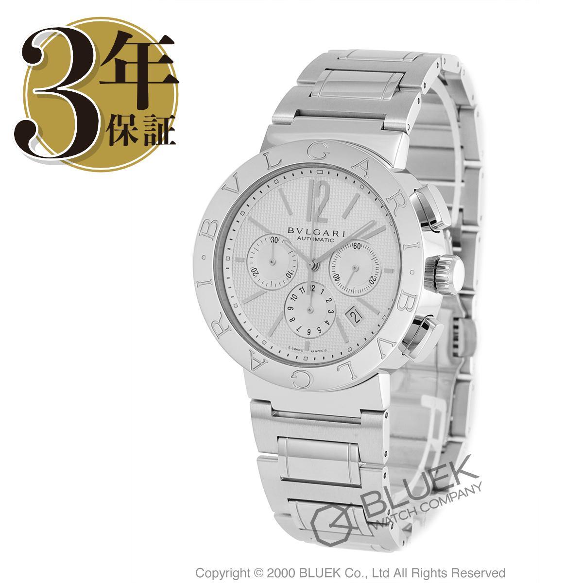 ブルガリ ブルガリブルガリ クロノグラフ 腕時計 メンズ BVLGARI BB42WSSDCH/N AUTO_8