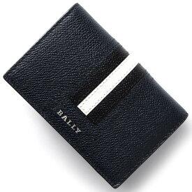 バリー カードケース メンズ タイク TYKE ニューブルー TYKELT 17 6218027 BALLY