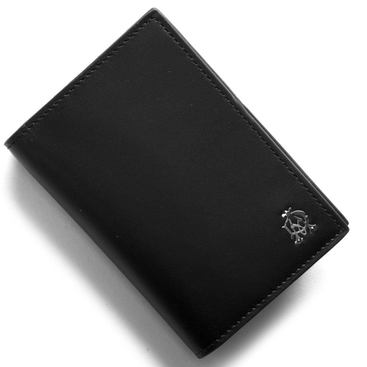 ダンヒル DUNHILL カードケース ウェセックス WESSEX ブラック L2AS47 A メンズ