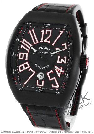 フランクミュラーヴァンガードクロコレザー腕時計メンズFRANCKMULLERV45SCDT