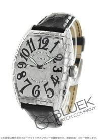 フランクミュラー トノーカーベックス アイアンクロコ クロコレザー 腕時計 メンズ FRANCK MULLER 8880 SC IRON CRO[FM8880SCICSSSLENBK]