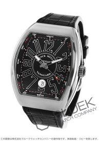 【10/1〜10/2限定!7,000円OFFクーポン対象】フランクミュラー ヴァンガード クロコレザー 腕時計 メンズ FRANCK MULLER V 41 SC DT AC NR[FMV41SCPLSSBKLZBK]