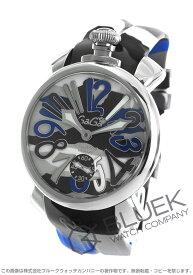 【X'masSALE】ガガミラノ マヌアーレ カモフラージュ48MM 腕時計 メンズ GaGa MILANO 5010.15S