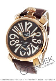 【X'masSALE】ガガミラノ マヌアーレ48MM 腕時計 メンズ GaGa MILANO 5011.01S