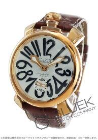 【X'masSALE】ガガミラノ マヌアーレ48MM 腕時計 メンズ GaGa MILANO 5011.06S