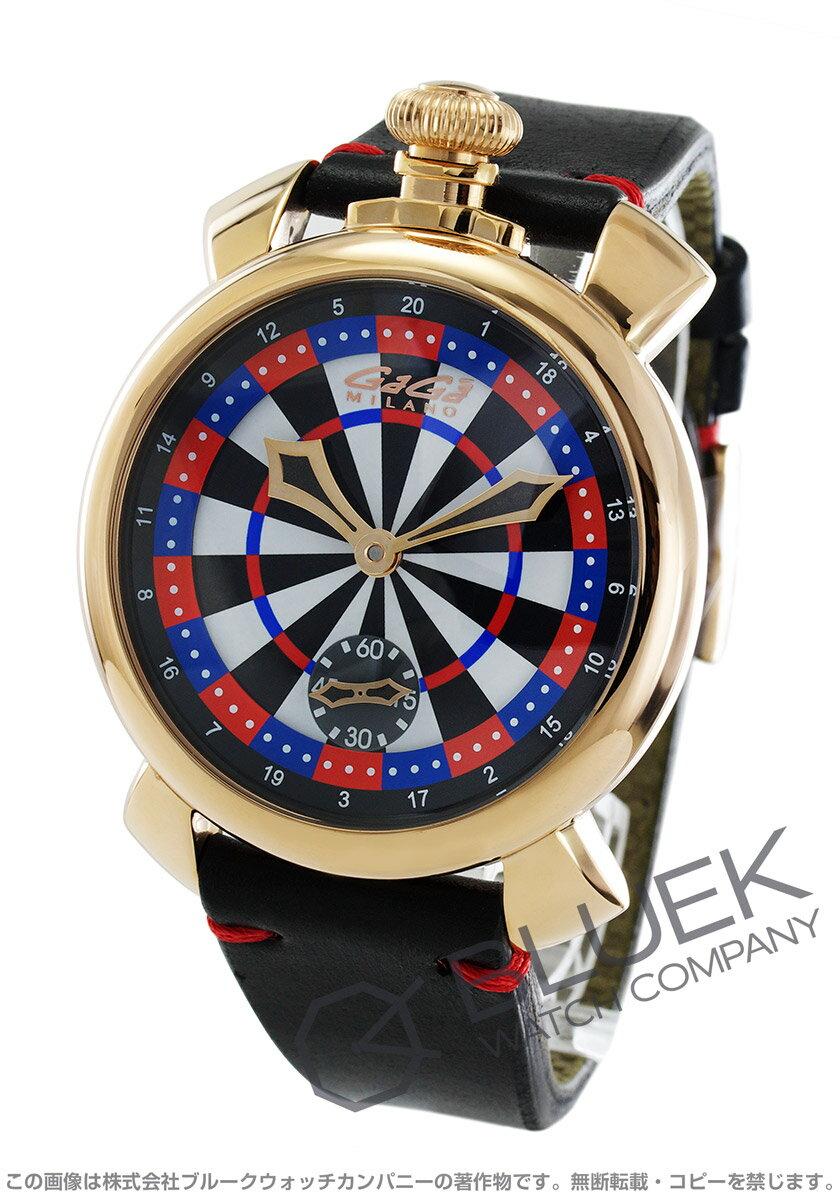 【最大3万円割引クーポン 10/1〜】ガガミラノ マヌアーレ48MM ラスベガス 世界限定300本 腕時計 メンズ GaGa MILANO 5011.LAS VEGAS.03
