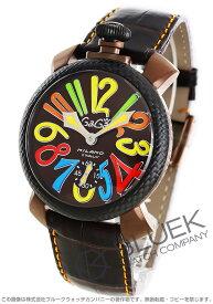 【X'masSALE】ガガミラノ マヌアーレ48MM リミテッドエディション 腕時計 メンズ GaGa MILANO 5016.EDA05PMOF