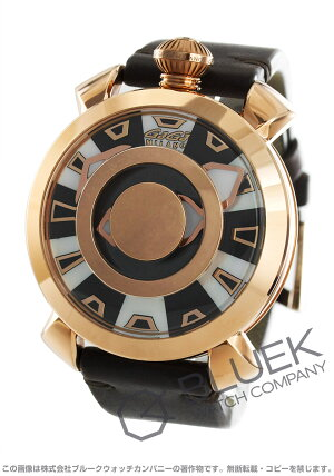 ガガミラノマヌアーレ48MMミステリーユース腕時計メンズGaGaMILANO9091.01