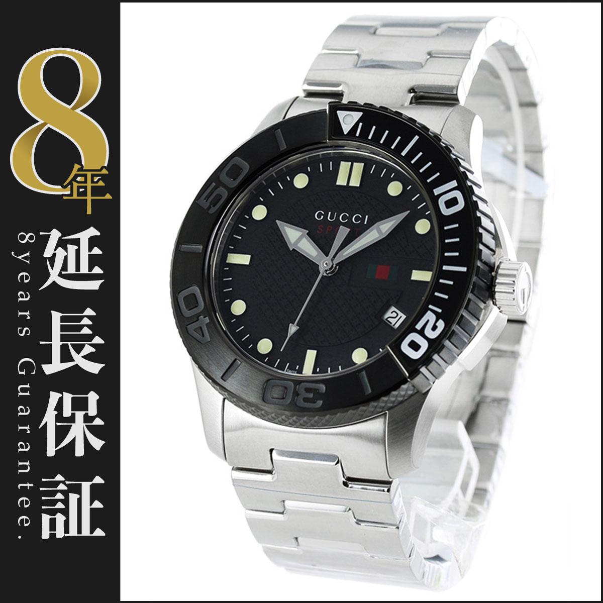 【エントリーでポイント3倍】グッチ GUCCI 腕時計 Gタイムレス メンズ YA126249_8