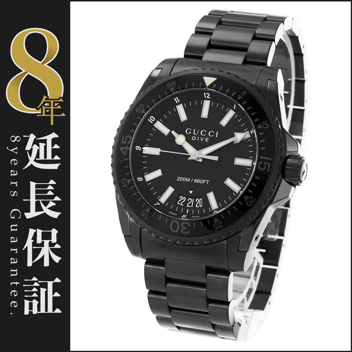 グッチ GUCCI 腕時計 ダイヴ メンズ YA136205_8
