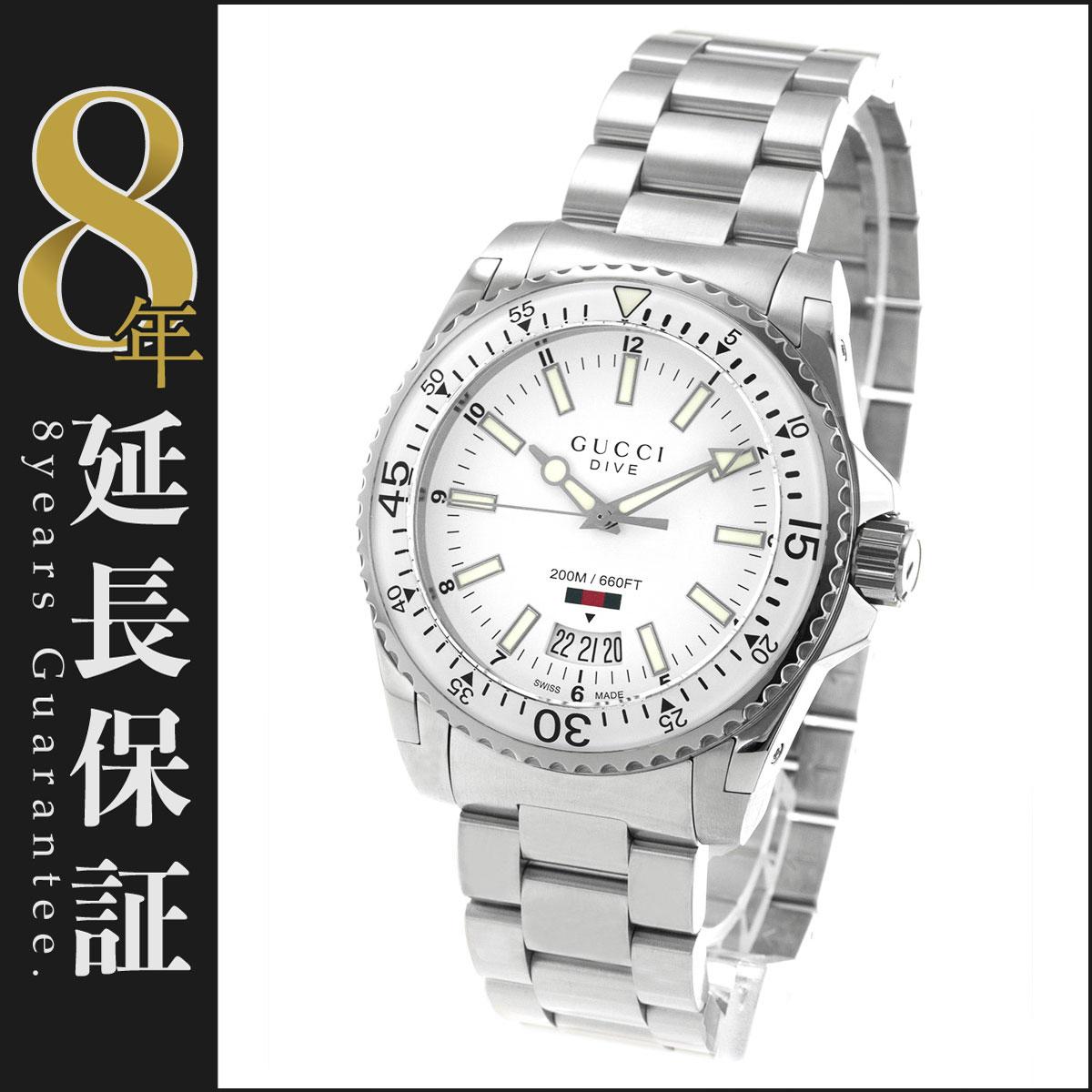 グッチ GUCCI 腕時計 ダイヴ メンズ YA136302_8