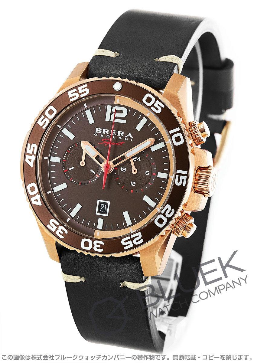 ブレラ スポーツ ミストラル クロノグラフ 腕時計 メンズ BRERA BRSPMIC4402-BRN-CF
