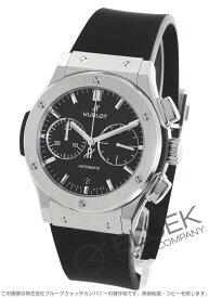 ウブロ クラシック フュージョン チタニウム クロノグラフ 腕時計 メンズ HUBLOT 521.NX.1171.RX