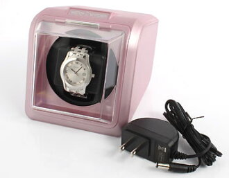 Purple with watch winder (ワンディングマシーン) adapter