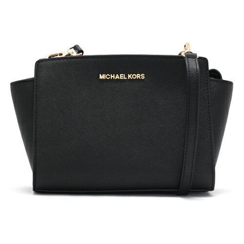 【エントリーでポイント3倍】マイケルコース MICHAEL KORS ショルダーバッグ セルマ 【SELMA】 ブラック 30T3GLMM2L 001 レディース