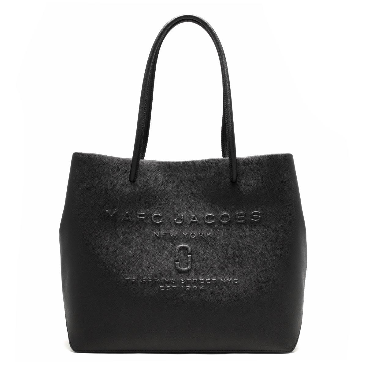 マークジェイコブス トートバッグ バッグ レディース ロゴ ショッパー ブラック M0011046 001 1SZ MARC JACOBS