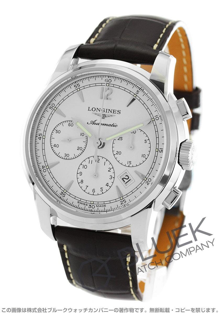 ロンジン LONGINES 腕時計 サンティミエ アリゲーターレザー メンズ L2.784.4.72.0