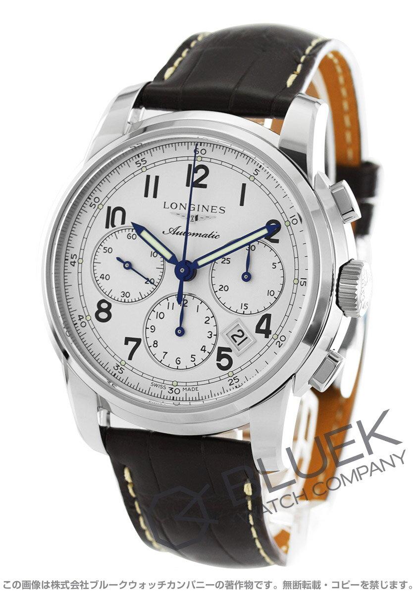 ロンジン LONGINES 腕時計 サンティミエ アリゲーターレザー メンズ L2.784.4.73.0