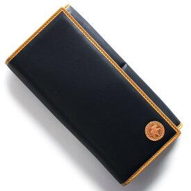 ハンティングワールド 長財布 財布 メンズ バチュー オリジン BATTUE ORIGIN ネイビー&ビンテージナチュラル 420 16A HUNTING WORLD