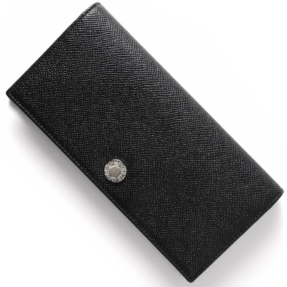 ブルガリ BVLGARI 長財布 クラシコ 【CLASSICO】 ブラック 27746 メンズ