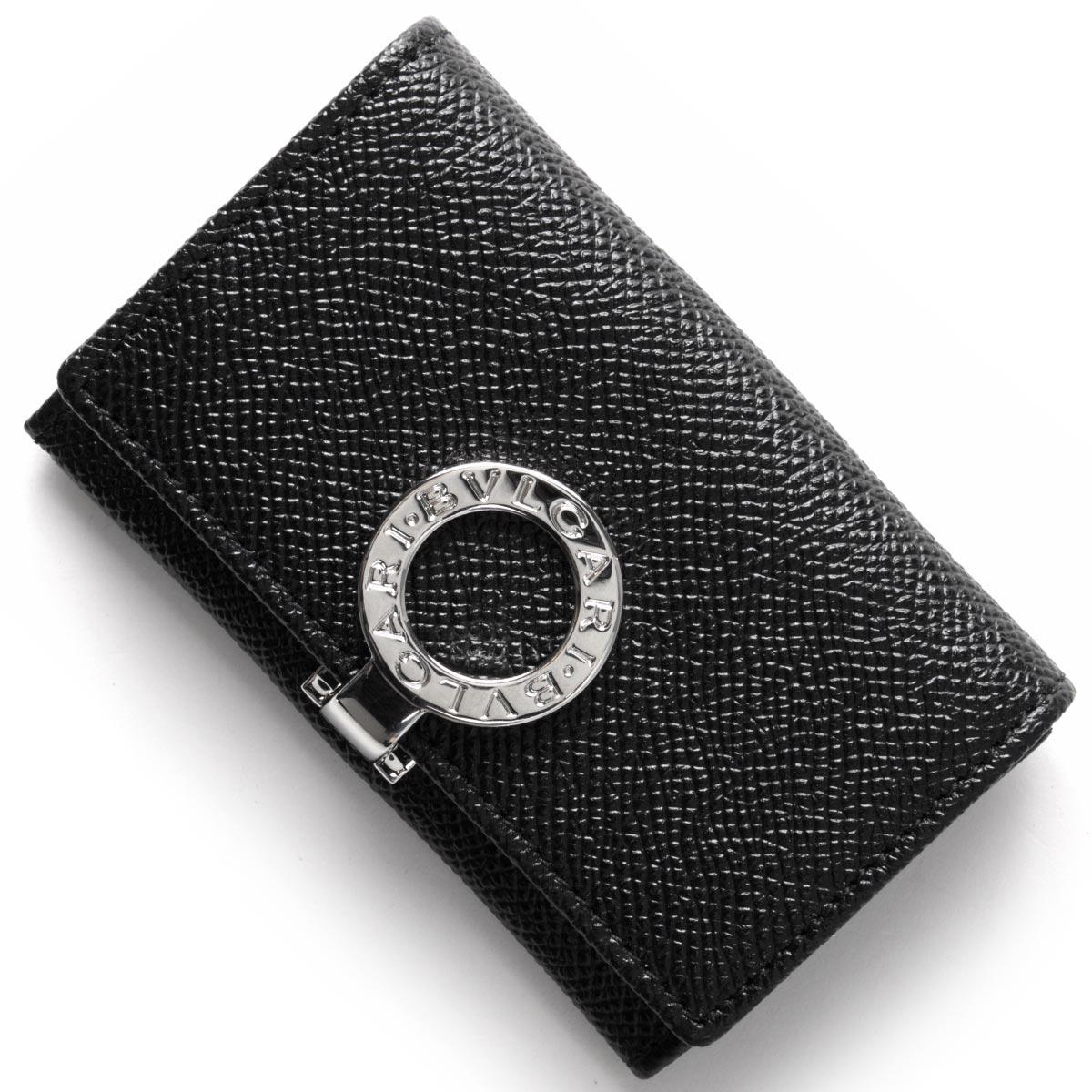 ブルガリ コインケース【小銭入れ】 財布 メンズ ブルガリブルガリ BB ブラック 33749 BVLGARI