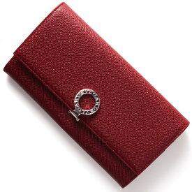 ブルガリ 長財布 財布 レディース ブルガリブルガリ レザー ルビーレッド 33889 BVLGARI