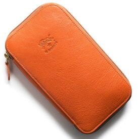 イルビゾンテ 長財布 財布 メンズ レディース スタンダード STANDARD オレンジ C0442 P 166 IL BISONTE