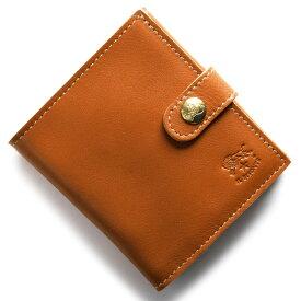 イルビゾンテ 二つ折り財布 財布 メンズ レディース スタンダード STANDARD キャラメルブラウン C0955 P 145 IL BISONTE
