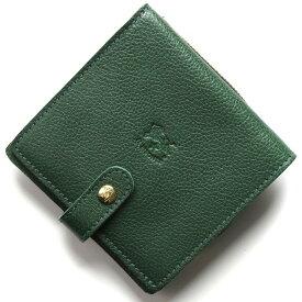イルビゾンテ 二つ折り財布 財布 メンズ レディース スタンダード グリーン C0962 P 293 IL BISONTE