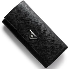 b852345824fe プラダ 長財布 財布 メンズ レディース SAFFIANO TRIANG ブラック 1MH132 QHH F0632 PRADA