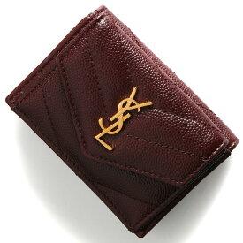 05c573c9b8ab サンローランパリ イヴサンローラン 三つ折り財布/ミニ財布 財布 レディース モノグラム YSL