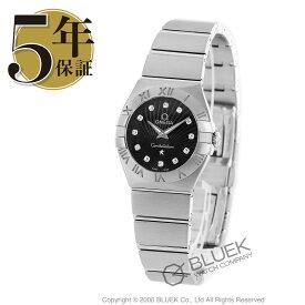 オメガ コンステレーション ブラッシュ ダイヤ 腕時計 レディース OMEGA 123.10.24.60.51.001_8
