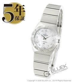 オメガ コンステレーション ブラッシュ ダイヤ 腕時計 レディース OMEGA 123.10.24.60.55.001_8