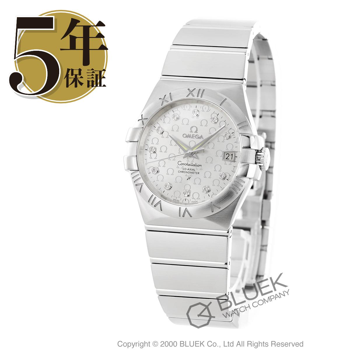 オメガ コンステレーション ダイヤ 腕時計 メンズ OMEGA 123.10.35.20.52.002_8