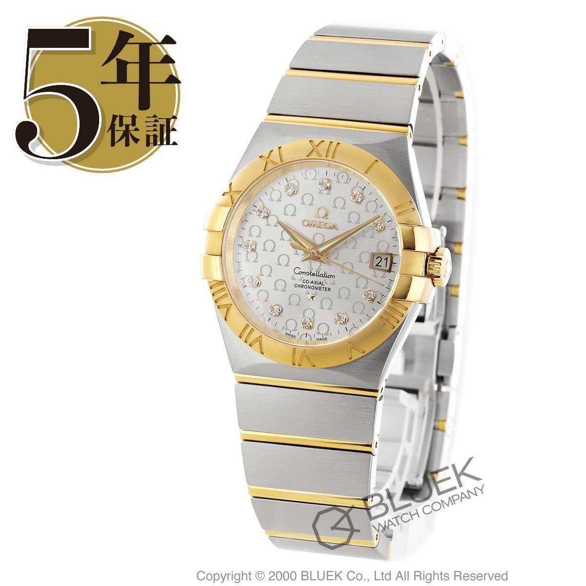 オメガ コンステレーション ブラッシュ ダイヤ 腕時計 メンズ OMEGA 123.20.35.20.52.004_8
