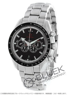 Rakuten Japan sale ★ Omega Speedmaster オリンピックタイムレス collection chronometer day date black men's 321.30.44.52.01.001