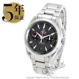 オメガ シーマスター アクアテラ クロノグラフ GMT 腕時計 メンズ OMEGA 231.10.43.52.06.001_5