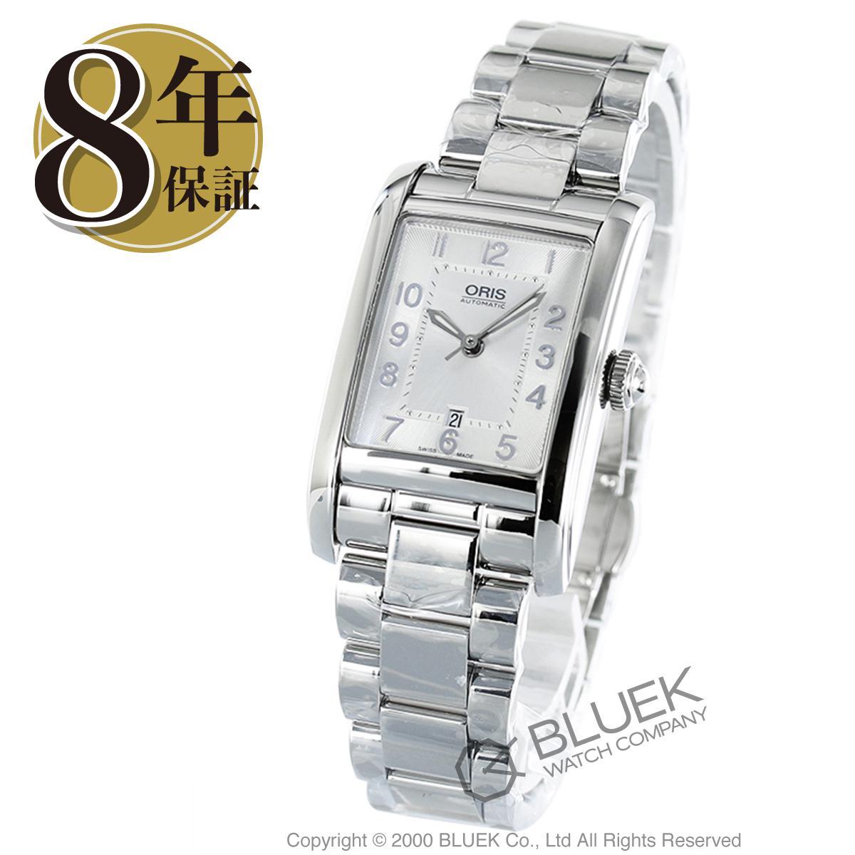 オリス レクタンギュラー デイト 腕時計 レディース ORIS 561 7692 4061M_8