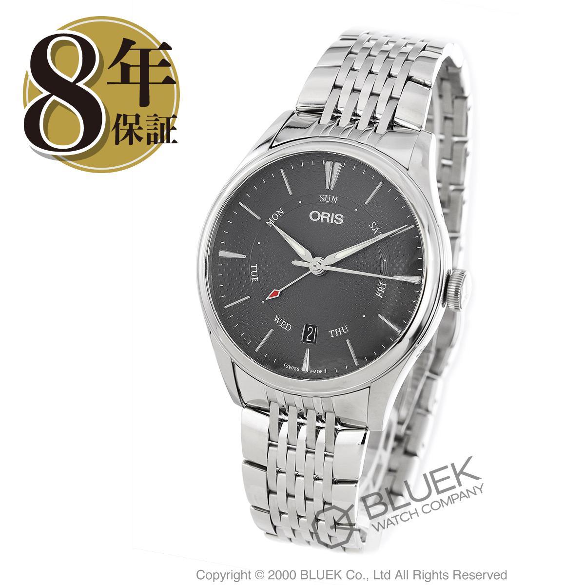 オリス アートリエ ポインターデイデイト 腕時計 メンズ ORIS 755 7742 4053M_8