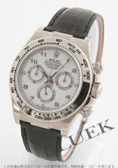 Rolex ROLEX Daytona Wilsdorf crocodile leather men's Ref.116519