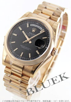 Rolex Rolex オイスターパーペチュアルメンズ Ref.118205F watch clock