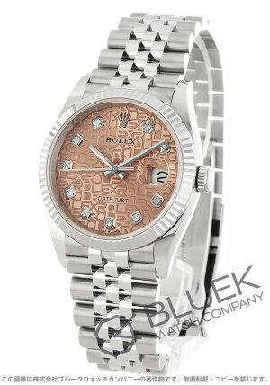 ロレックスデイトジャスト36ダイヤ腕時計メンズROLEX126234