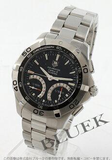 Tag Heuer Aquaracer Calibre S 300 m water resistant tachymeter chronograph black & silver mens CAF7010. BA0815