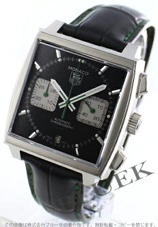 Tag Heuer TAGHEUER Monaco alligator leather men's CAW2117. FC6271