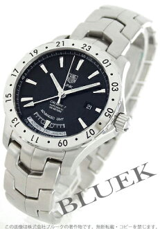 Tag Heuer link automatic GMT 200 waterproof black mens WJ2010... BA0591