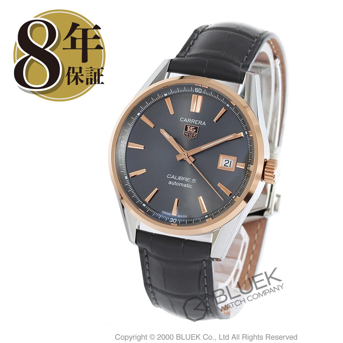 タグホイヤー カレラ アリゲーターレザー 腕時計 メンズ TAG Heuer WAR215E.FC6336_8