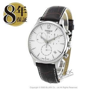 ティソT-クラシックトラディションクロノグラフ腕時計メンズTISSOTT063.617.16.037.00